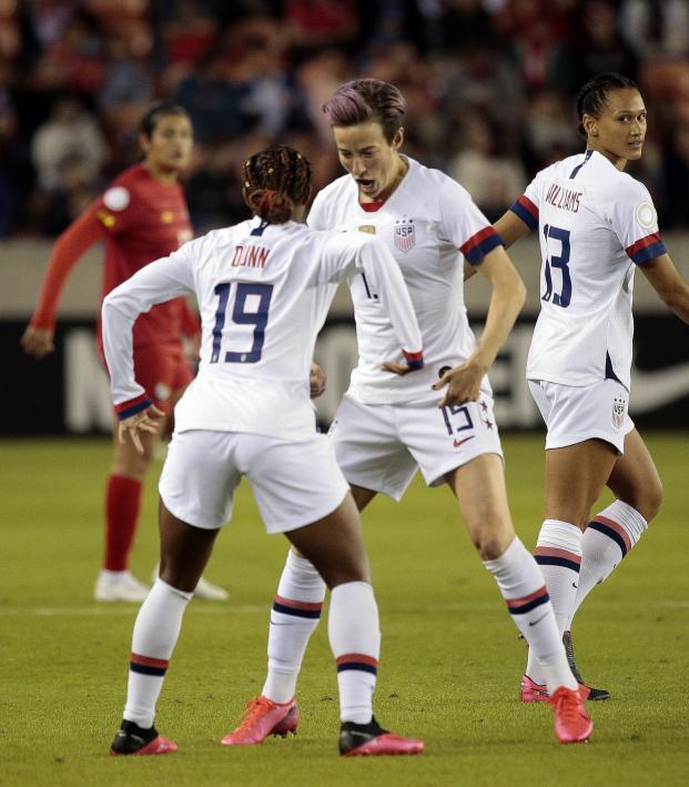 USWNT vs Panama Highlights Olympic Qualifying