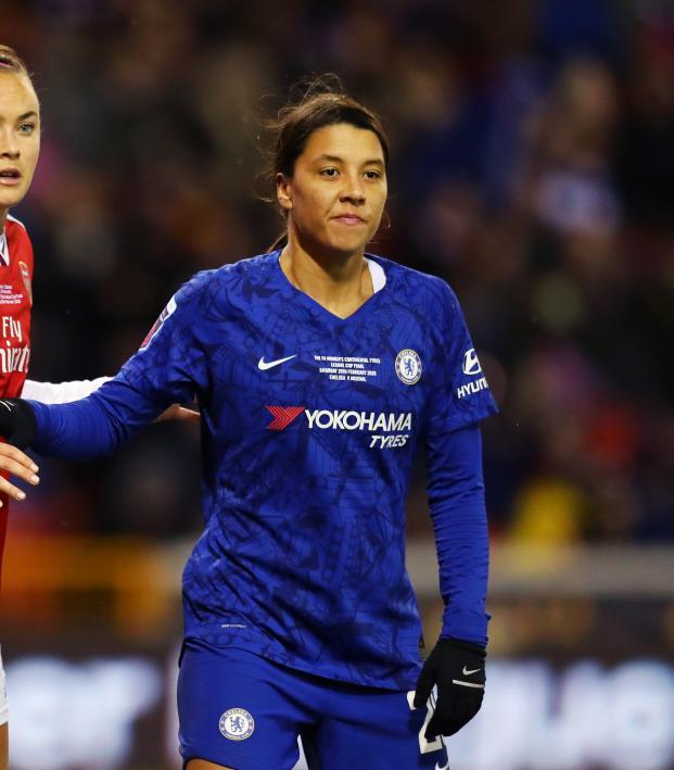 Sam Kerr Chelsea Highlights vs Arsenal