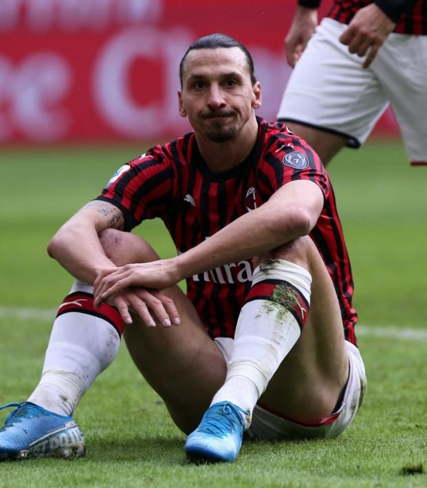 Zlatan Ibrahimovic injury