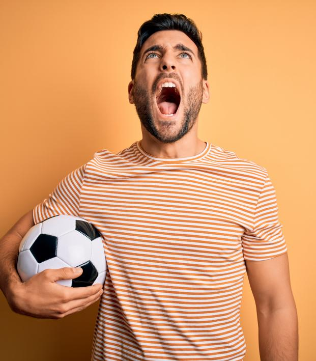 Soccer Players Swearing