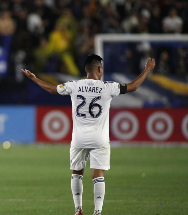 Efrain Alvarez highlights with LA Galaxy