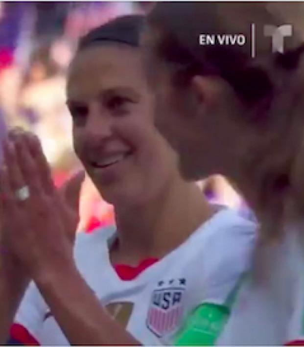 Carli Lloyd goal vs Chile