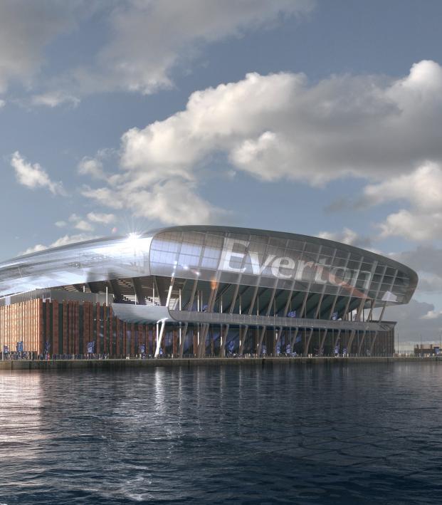 Everton new stadium photos