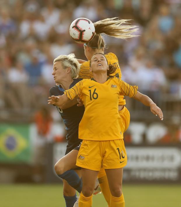 USWNT vs Australia highlights