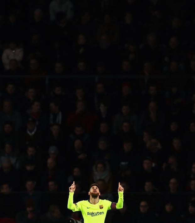 Lionel Messi hat-trick