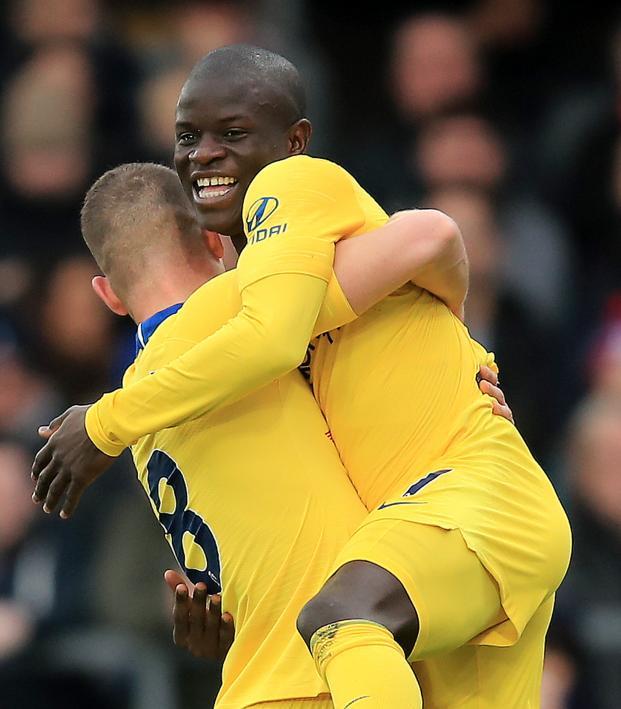 N'Golo Kante goal vs Crystal Palace