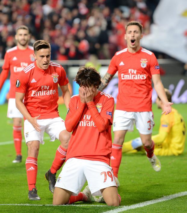 Joao Felix Benfica goal v Setubal
