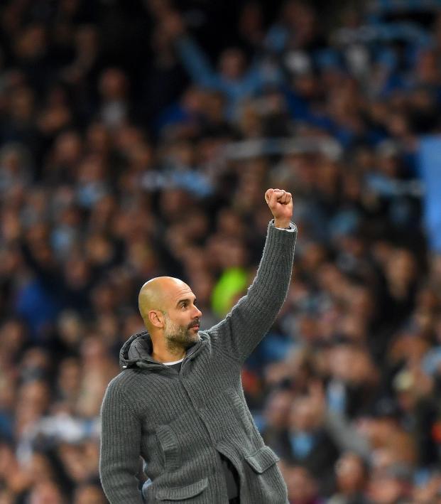 Man City v Leicester highlights