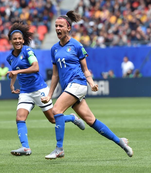 Italy upset Australia at the Women's World Cup