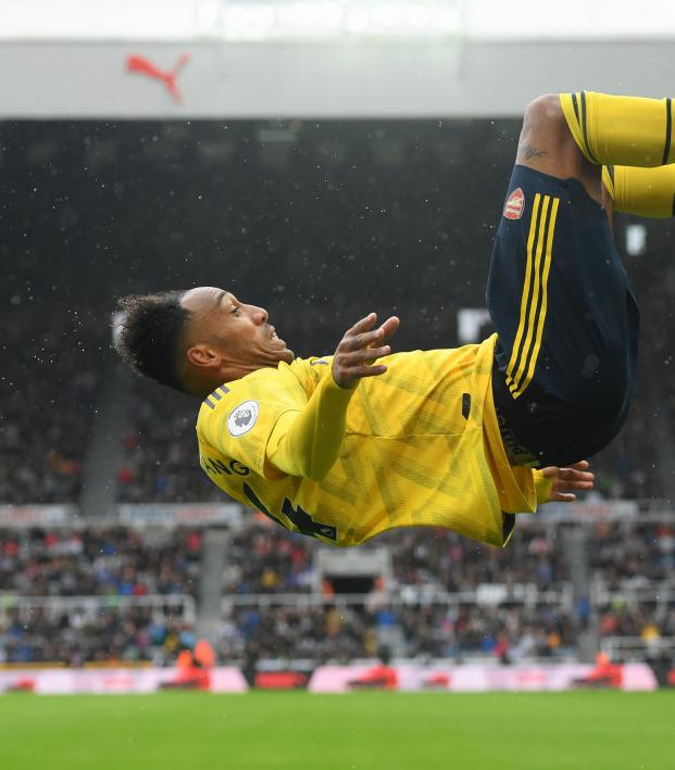 Pierre-Emerick Aubameyang goal vs Newcastle