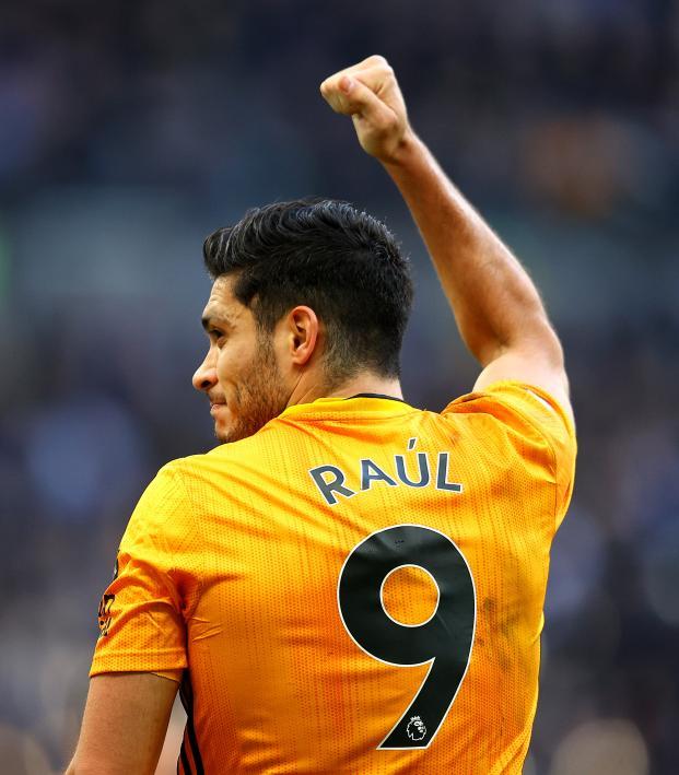 Raul Jimenez Tottenham vs Wolves