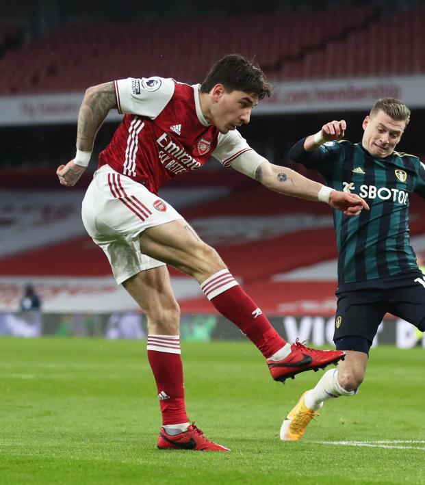 Hector Bellerin Goal Vs Leeds