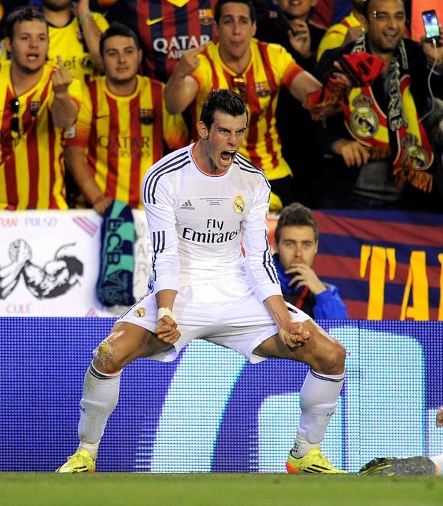 Gareth Bale Copa del Rey English Commentary