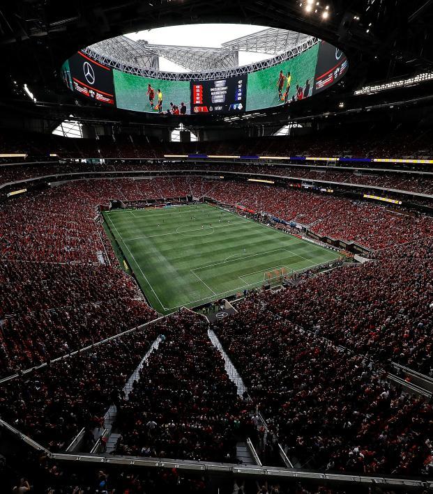2021 MLS fans in stands