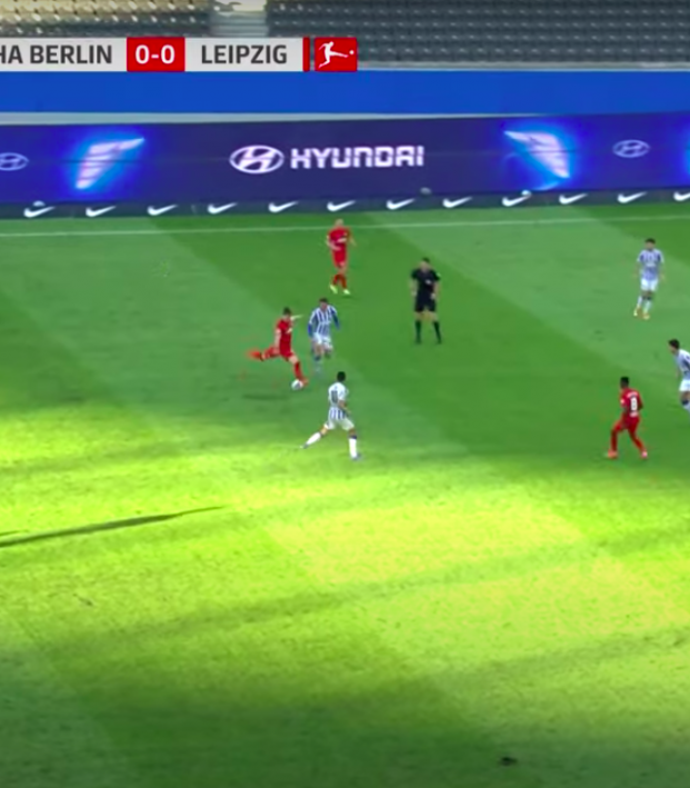 Marcel Sabitzer goal vs Hertha Berlin