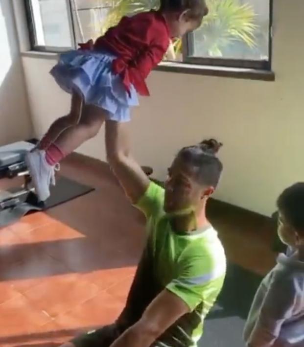 Cristiano Ronaldo workout video