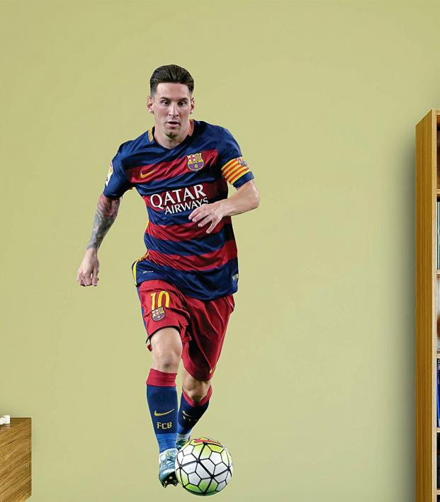 Last Minute Soccer Gifts Amazon Prime: Messi Fathead