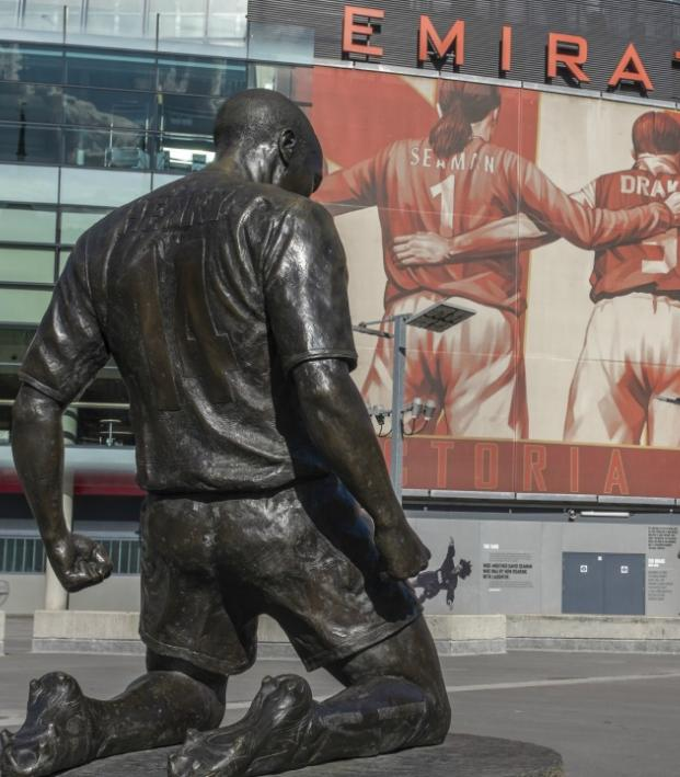 Thierry Henry and The Emirates
