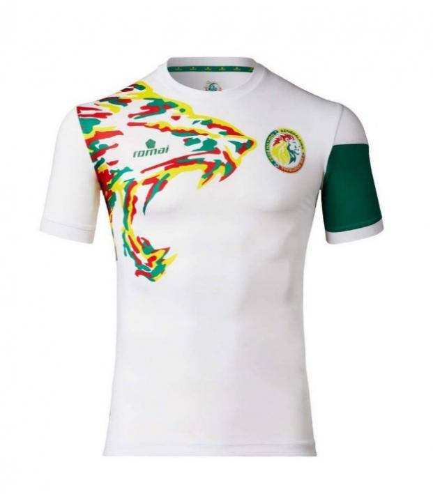 Senegal and Cameroon's kits