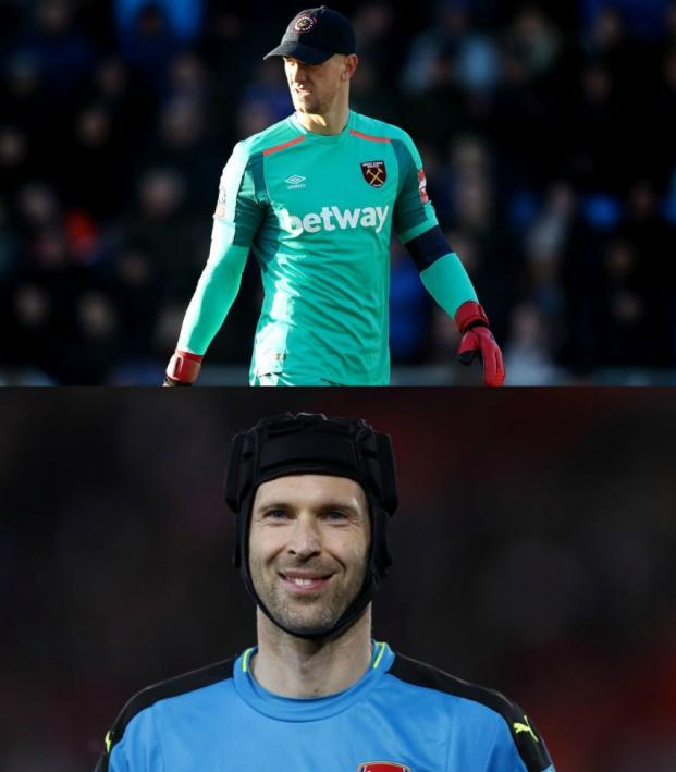 Goalies with hats