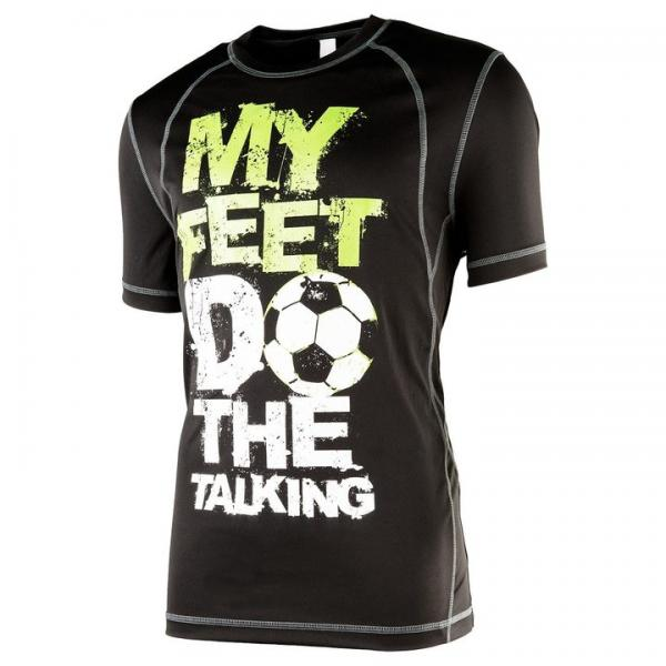 My Feet Do The Talking Men's Performance T-Shirt