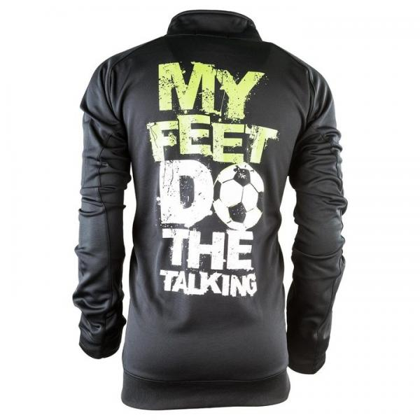 My Feet Do The Talking Mens Zip Up