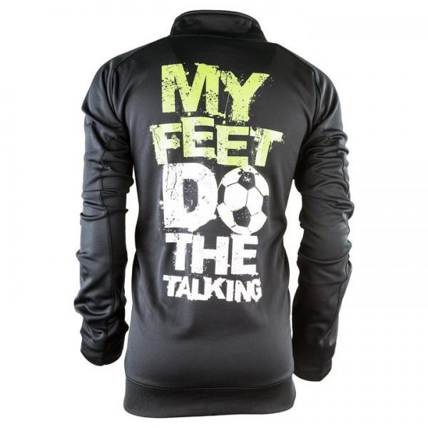 My Feet Do The Talking Mens Zip Up