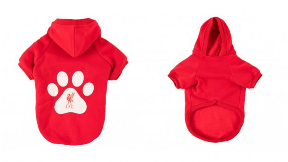 Best Soccer Gifts: Liverpool FC Dog Hoodie