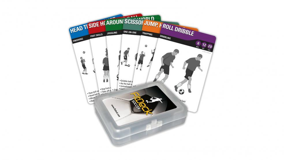 Last Minute Soccer Gifts Amazon Prime: FitDeck Exercise Playing Cards