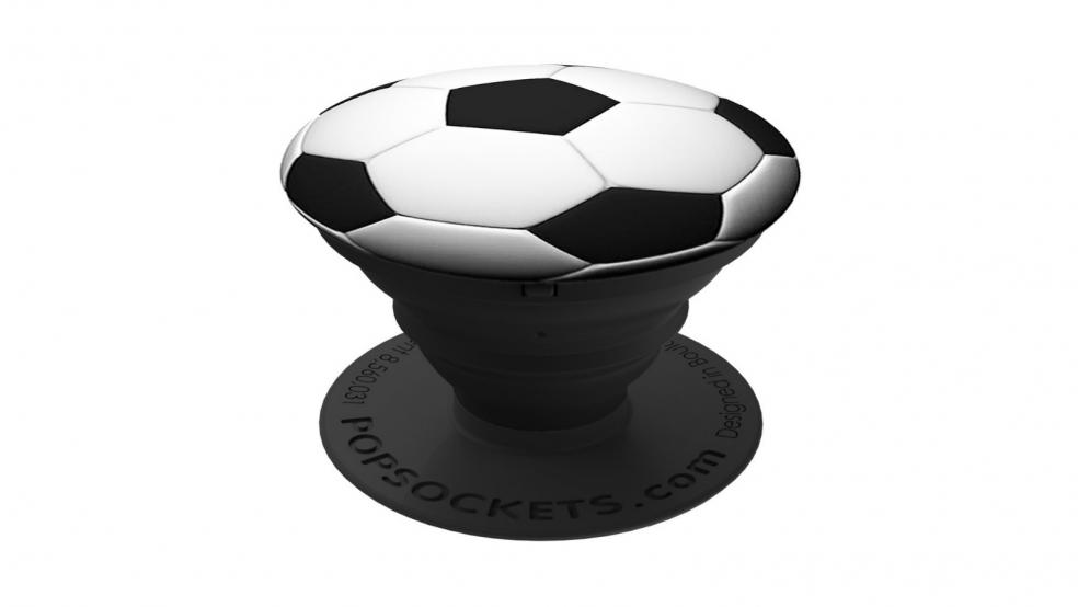 Last Minute Soccer Gifts Amazon Prime: Soccer Ball Pop Socket
