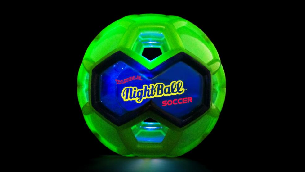 Best Soccer Gifts: Tangle Creations Night Soccer Ball