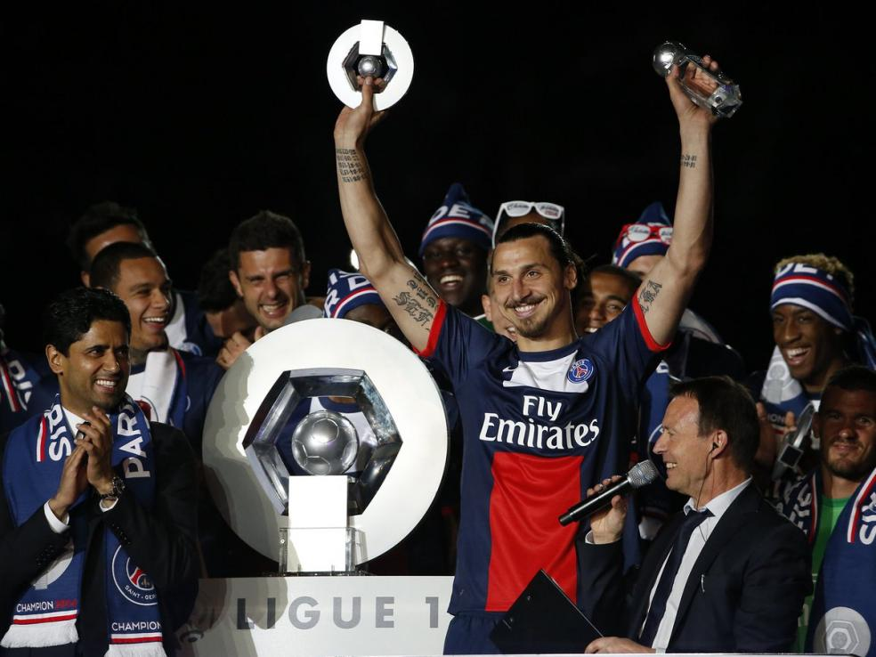 Soccer Players With Most Trophies - Zlatan Ibrahimovic