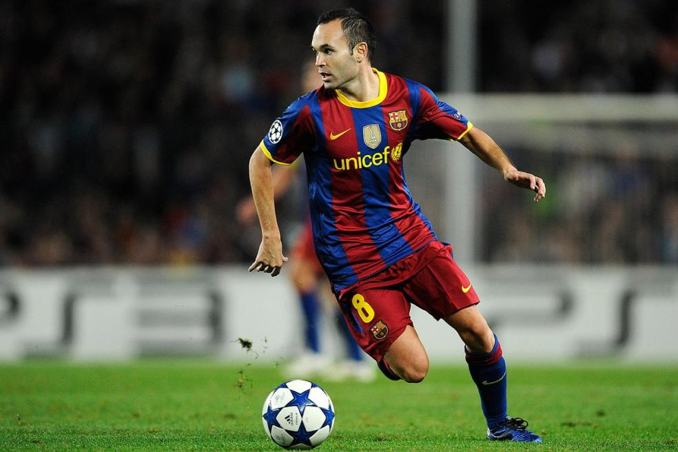 Footballers With The Most Social Media Followers - Andres Iniesta