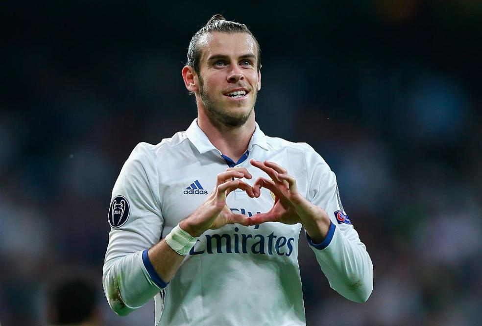 Footballers With The Most Social Media Followers - Gareth Bale