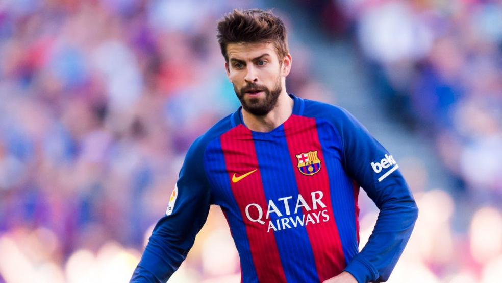 Footballers With The Most Social Media Followers - Gerard Pique