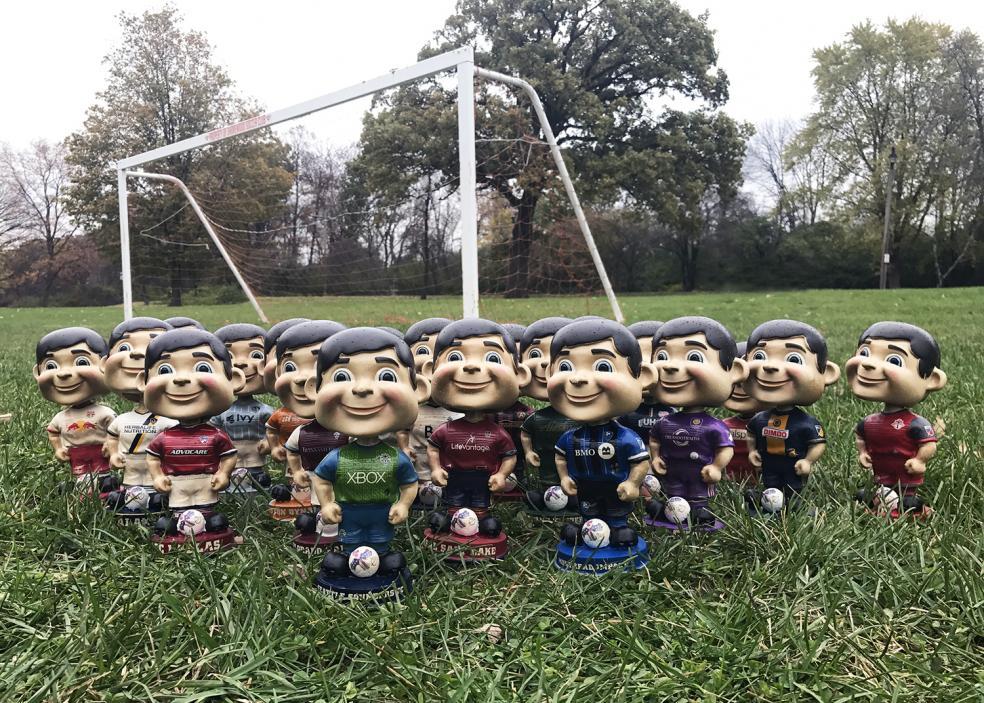 Best Soccer Gifts Online - Vintage MLS Bobbleheads