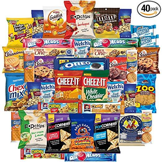 Best Gifts For Gamers - Variety Snack Pack