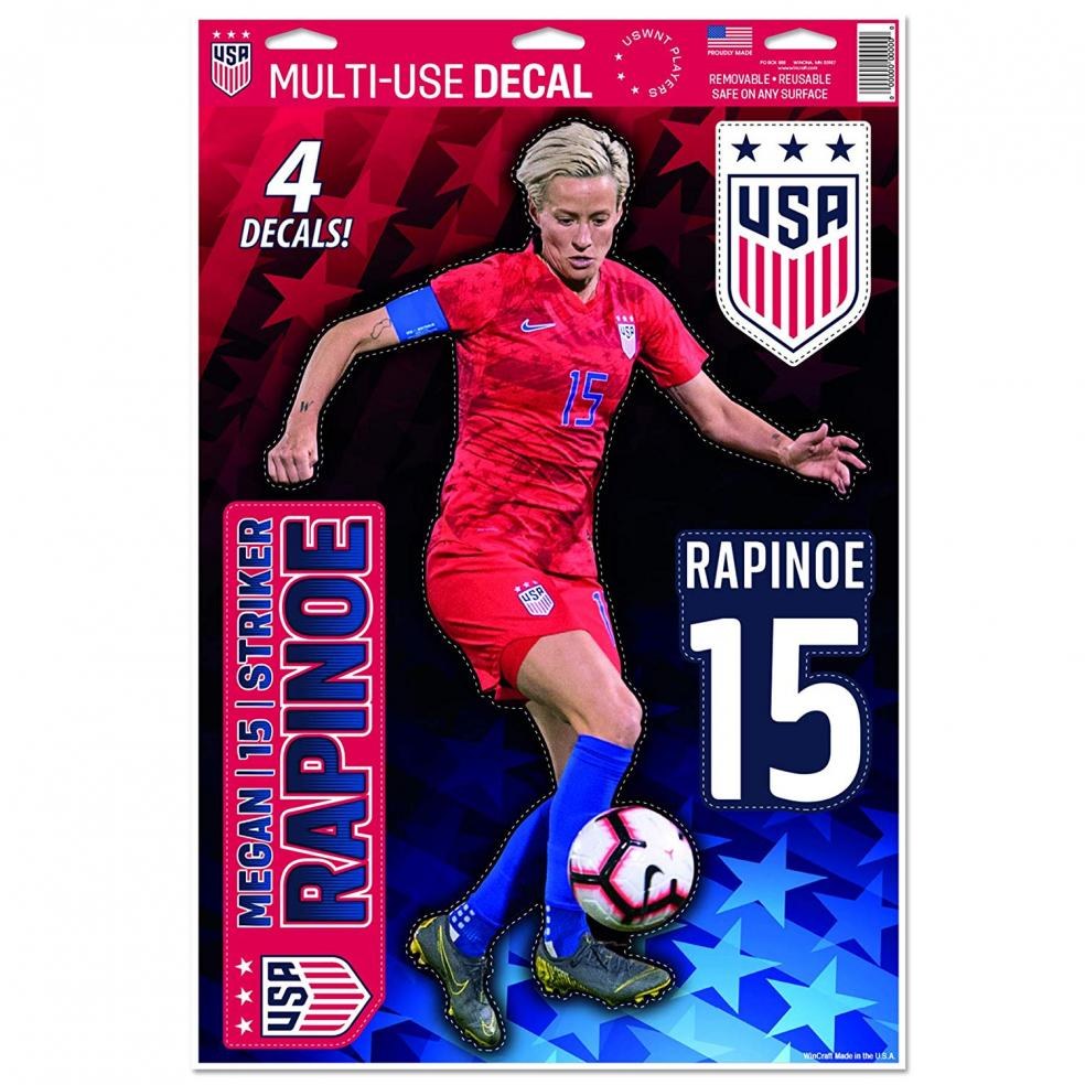 Best Soccer Gifts For Kids - USWNT Decal