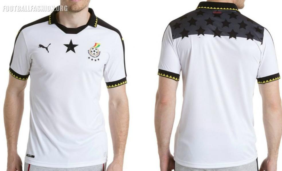 Ghana home jersey
