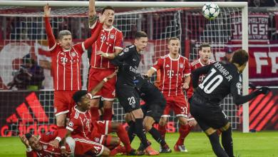 Neymar Free Kick Against Bayern Munich
