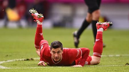 Robert Lewandowski injury