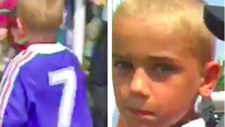 Antoine Griezmann As A Kid