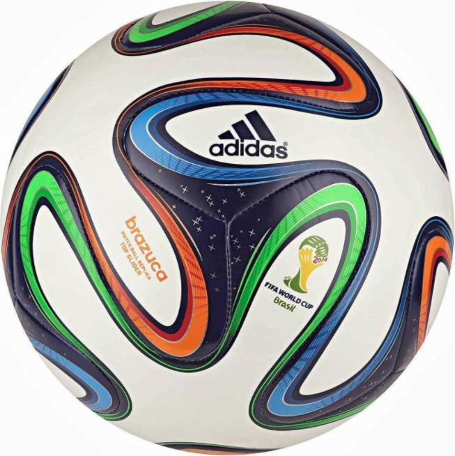 World Cup Balls Adidas Brazuca