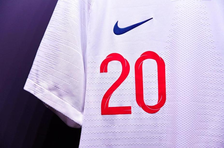 2018 England World Cup Kit - Up Close, Home