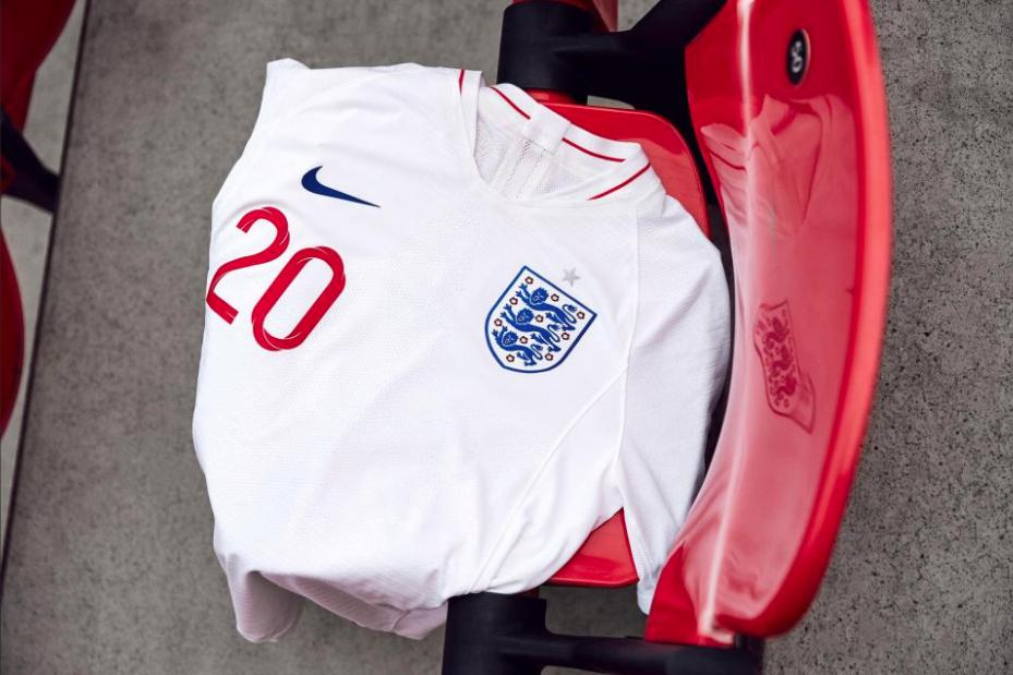 2018 England World Cup Kit - Home
