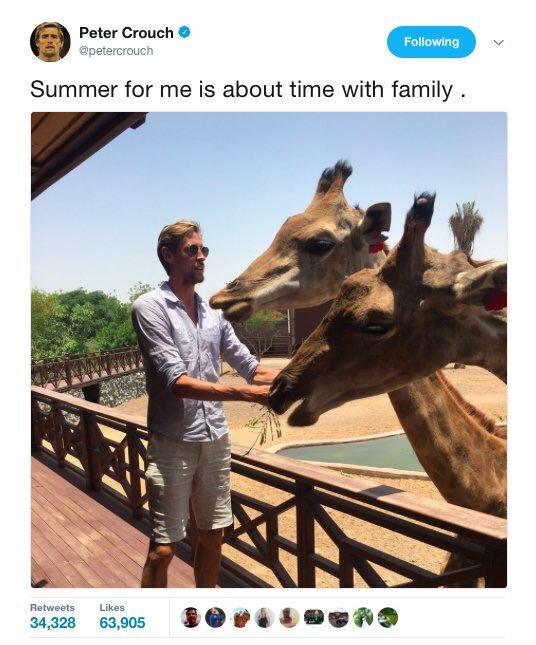 Footballers with Animals