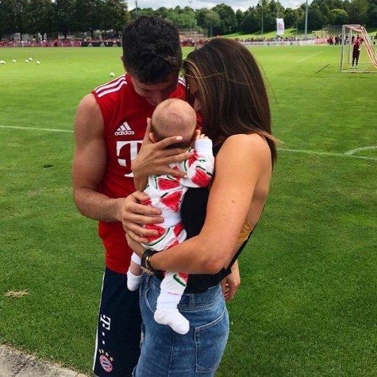 Footballer Family Photos