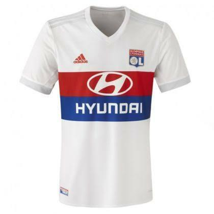 2017-18 Lyon Home kit