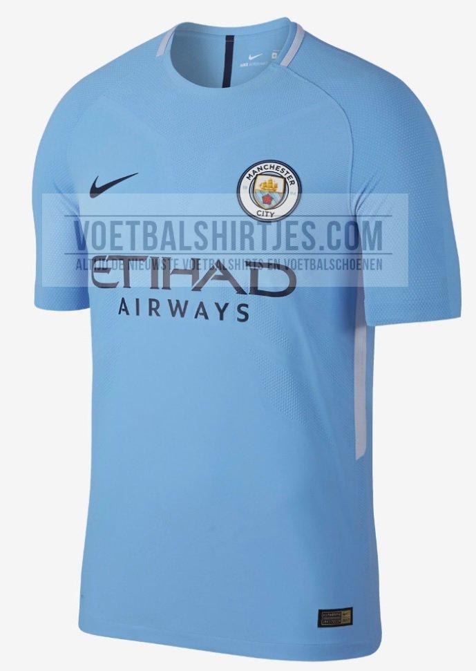 2017-18 Manchester City home kit