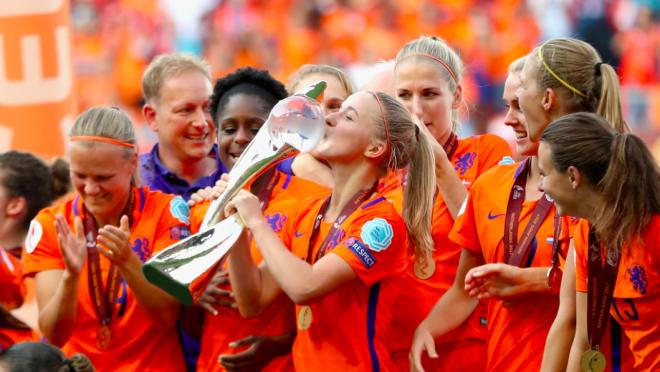 Netherlands Win Women's Euro Cup